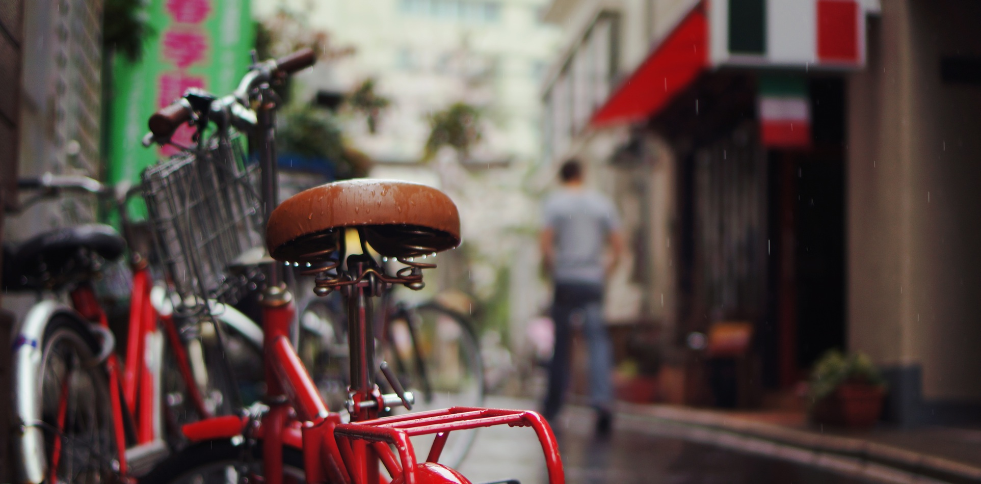 Weather Gallery - Bicycle in the Rain