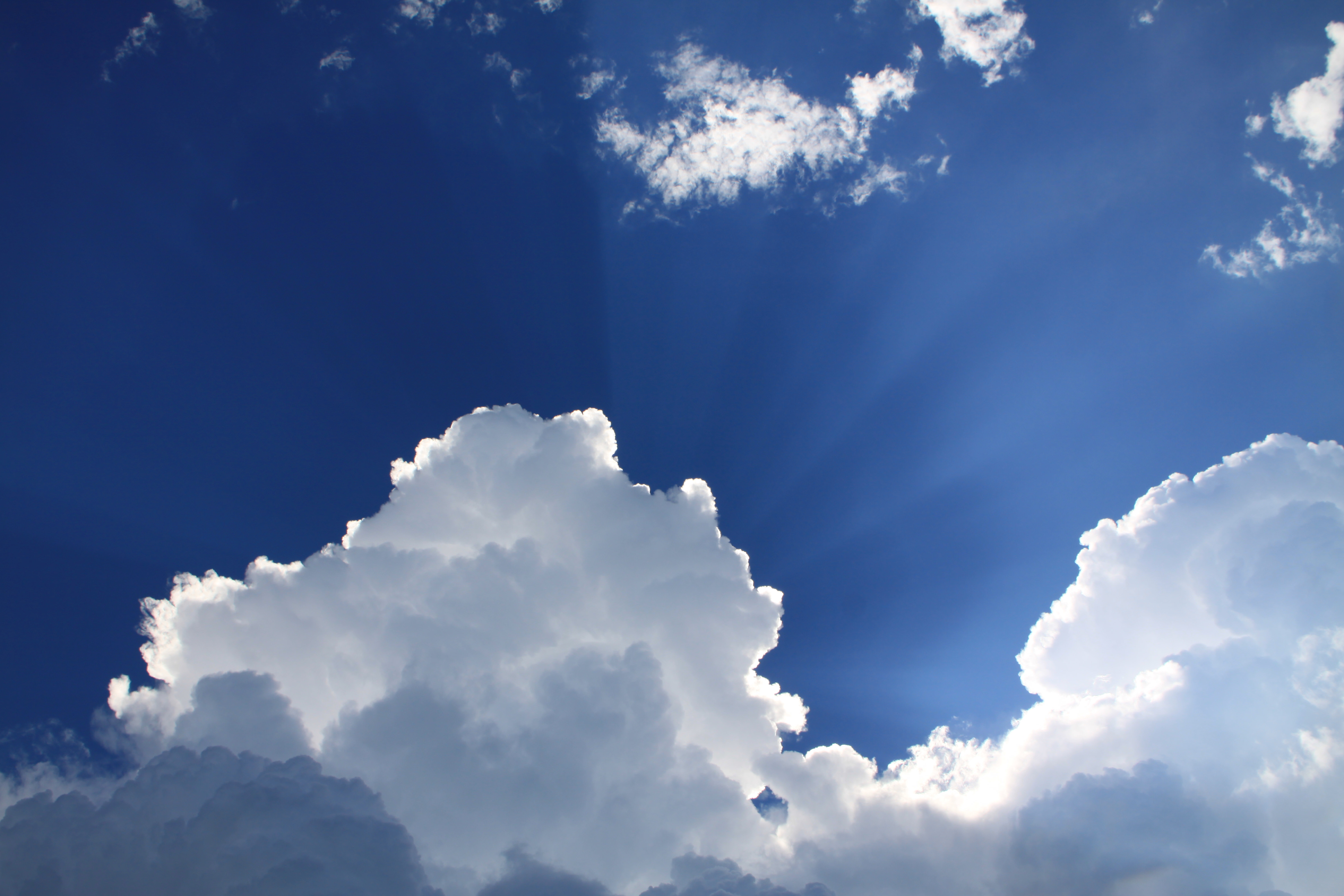 Weather Gallery - Blue Sky White Cloud